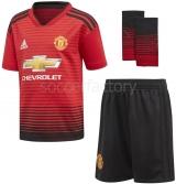 Camiseta de Fútbol ADIDAS Mini Kit 1ª Equipación Manchester United 2018-19 CG0058