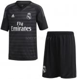 Camiseta de Fútbol ADIDAS 1ª Equipación Portero Junior Real Madrid 2018-19 CG0568