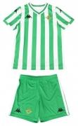 Camiseta de Fútbol KAPPA Kit 1ª Equipación Real Betis 2018-2019 Bebé 304KII0-901