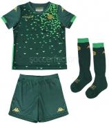 Camiseta de Fútbol KAPPA Kit 2ª Equipación Real Betis 2018-2019 Niño 304JHH0-902