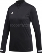 Camiseta de Fútbol ADIDAS Team 19 1/4 Zip Woman DW6851